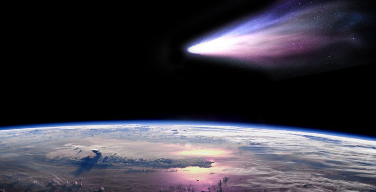 1st Time Rare Comet will be Visible from Earth 1 Behind History