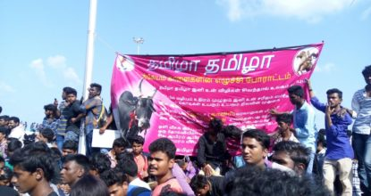 Jallikattu Protest | Students Refusing to Leave 119 Behind History