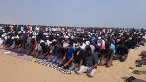 Friday Prayer during the Protest