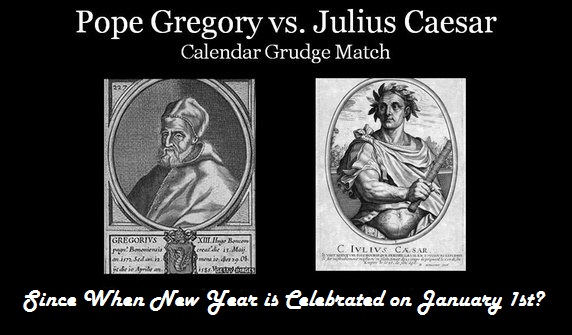 Year Calendar History : Since when new year is celebrated on january types of