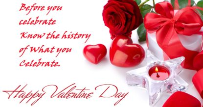 Behind the History of Valentine's Day 117 Behind History