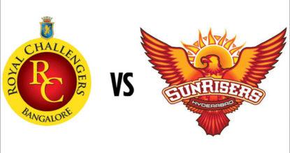 Royal Challengers Bangalore vs Sunrisers Hyderabad   51st Match   Dream11 Team 9 Behind History