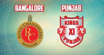 Kings XI Punjab vs Royal Challengers Bangalore   48th Match   Dream11 Team 11 Behind History
