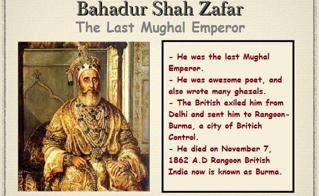 Behind the History of Bahadur Shah Zafar | Last Mughal Emperor 1 Behind History