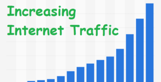 Speedy Increase in Internet Traffic Analysed | Knowledge Base 5 Behind History