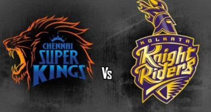 Kolkata Knight Riders vs Chennai Super Kings   33rd Match   Dream11 Team 21 Behind History