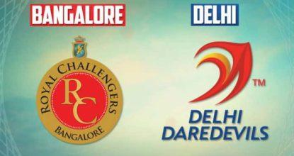 Delhi Daredevils vs Royal Challengers Bangalore   45th Match   Dream11 Team 14 Behind History