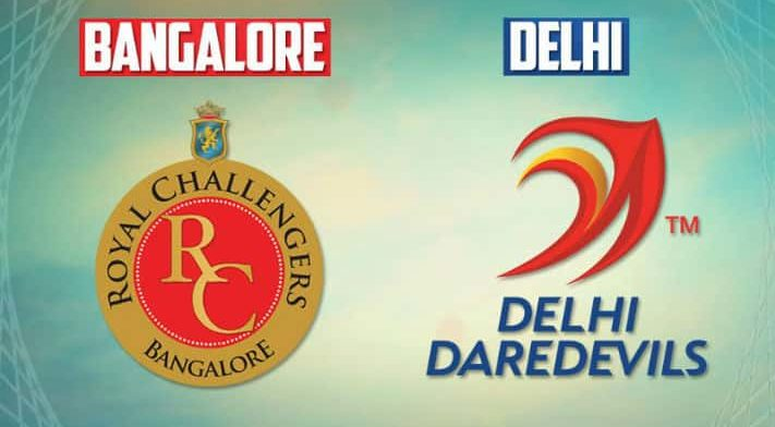 Royal Challengers Bangalore vs Delhi Daredevils | 19th Match | Dream11 Team 1 Behind History