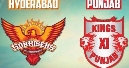 Sunrisers Hyderabad vs Kings XI Punjab   25th Match   Dream11 Team 27 Behind History