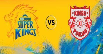 Kings XI Punjab vs Chennai Super Kings   12th Match   Dream11 Team 34 Behind History