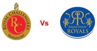 Rajasthan Royals vs Royal Challengers Bangalore   53rd Match   Dream11 Team 7 Behind History