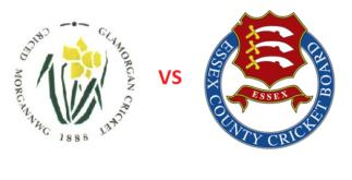 Glamorgan vs Essex | South Group Match | Dream11 Team 3 Behind History
