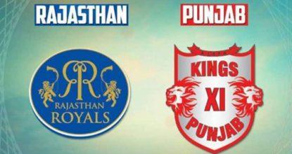 Kings XI Punjab vs Rajasthan Royals   38th Match   Dream11 Team 17 Behind History