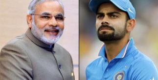 Virat Kohli Challenges PM Narendra Modi | MS Dhoni & Anushka Sharma 2 Behind History