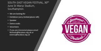 South East Vegan Events 2 Behind History