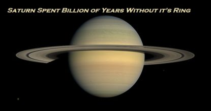 Saturn Spent Billion of Years Without it's Ring 16 Behind History