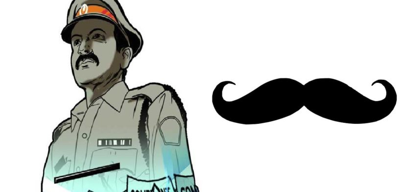 400% Hike in Allowance for UP Cops for Growing Mustache 1 Behind History