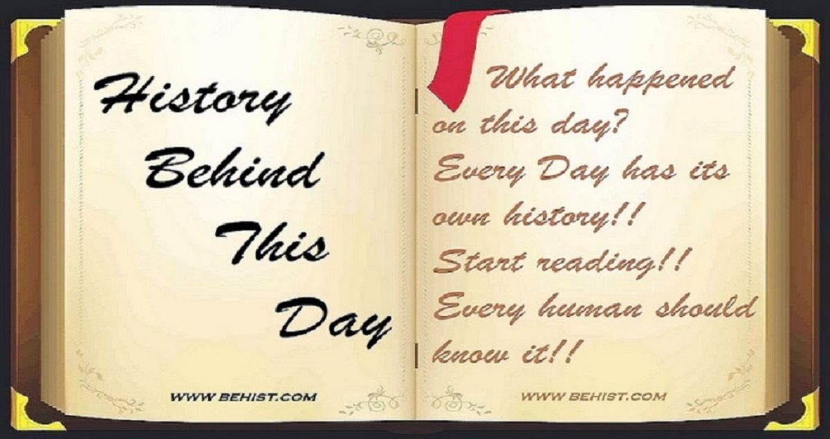 Behind History For November 1 - Today in History 1 Behind History