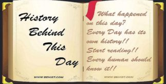 Behind History For November 13 - Today in History 3 Behind History