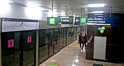 Chennai Metro Will Display Train Timings at Bus Stops 137 Behind History