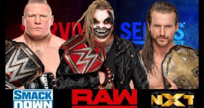 Universal Championship Match in Survivor Series 2019 138 Behind History