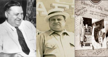 History of Arthur E Gehrke - Human Hibernator 8 Behind History