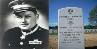 History of Captain Everett Pope - Battle of Peleliu 3 Behind History