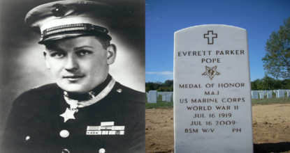 History of Captain Everett Pope - Battle of Peleliu 57 Behind History