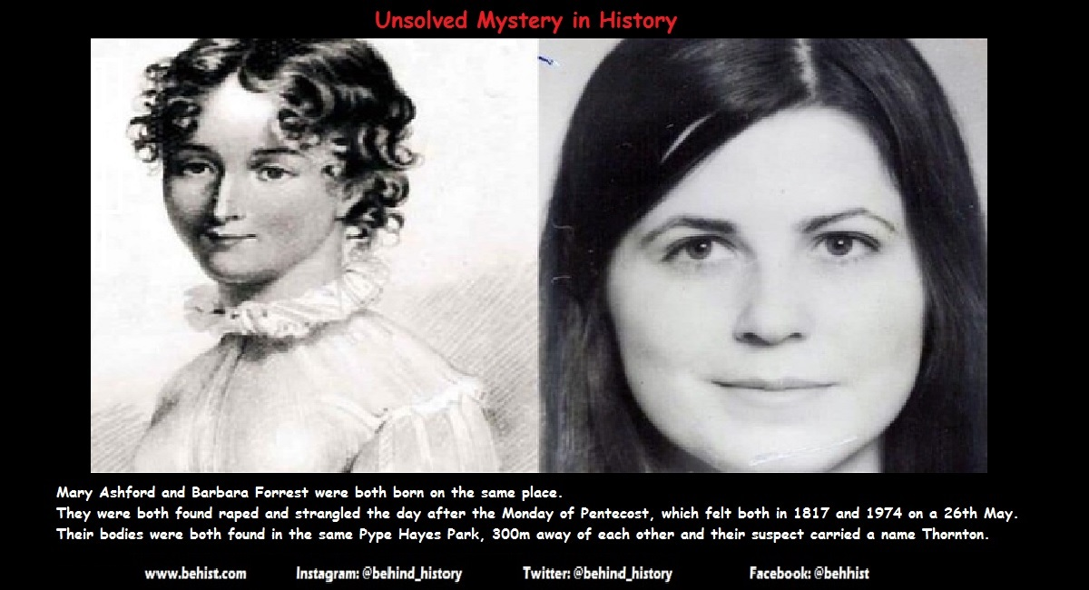 2 Unsolved Similar Murders - 157 Years Apart 1 Behind History