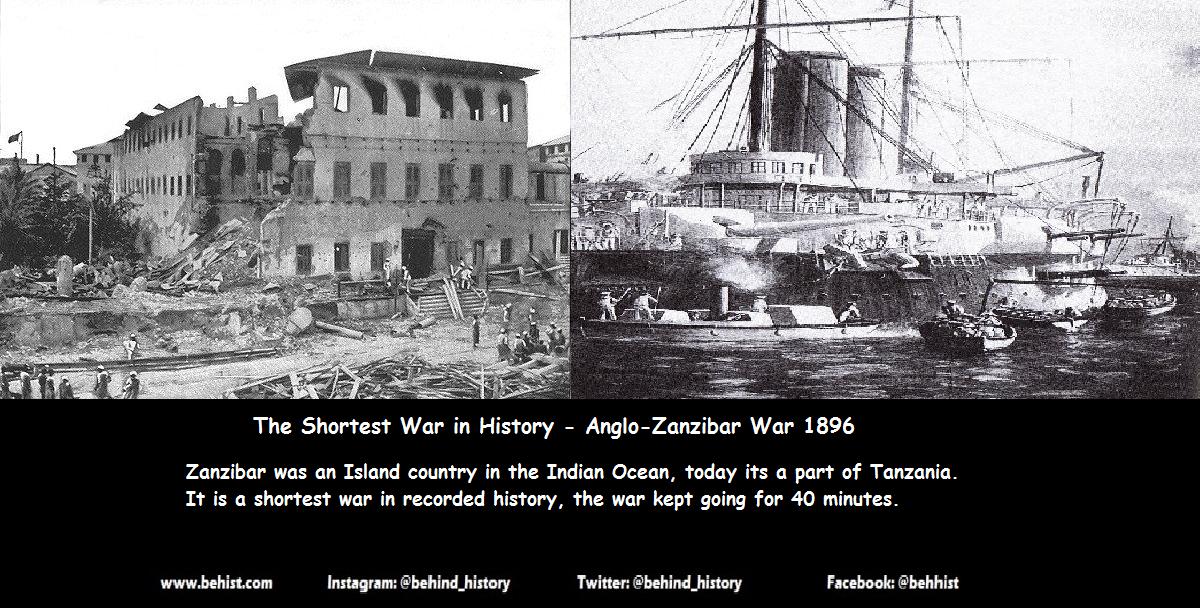 Shortest War in History - Anglo-Zanzibar War 1896