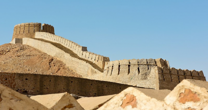 The Great Wall of Sindh - Ranikot Fort