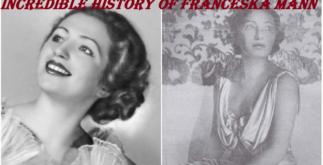Incredible History of Franceska Mann 1 Behind History