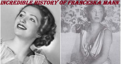 Incredible History of Franceska Mann 26 Behind History