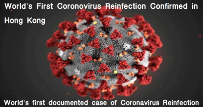 World's First Coronovirus Reinfection Confirmed in Hong Kong