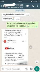 Youtube Monetization Guide & Package 34 Behind History
